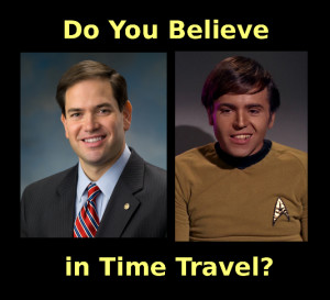 Rubio and Chekov look like twins