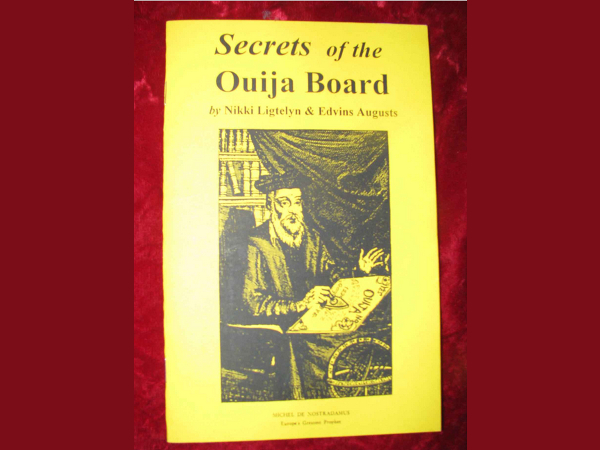 Secrets of the Ouija Board book