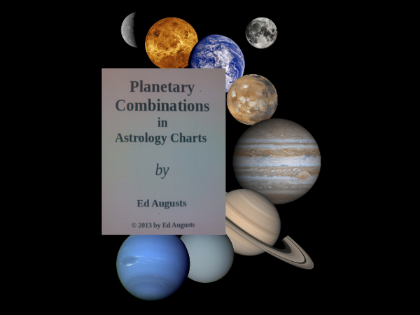 Planetary Combinations in Astrology Charts book cover